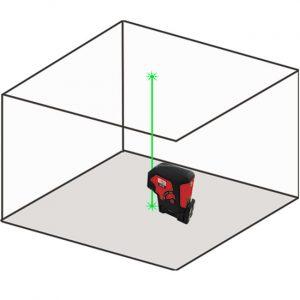 D272G Green Beam Plumb Laser