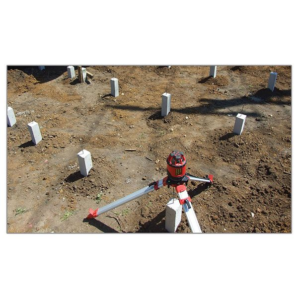 RedBack Lasers CXR880 Site Layout SIte squaring no 456 electronic self levelling