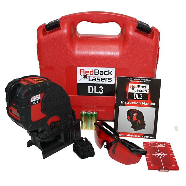 RedBack lasers DL3 Kit compact line and dot laser