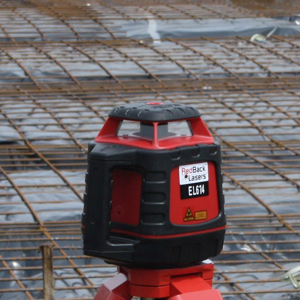 RedBack Lasers EL614 Concreting & Construction Laser Level tough accurate strong