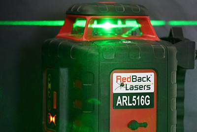 Green Beam Laser