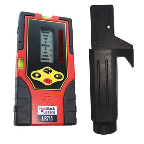 RedBack LR715 Receiver with clamp red beam universal receiver