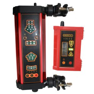 MR825WD wireless machine mounted receiver Clamp and magnetic mounts tilt and swing modes