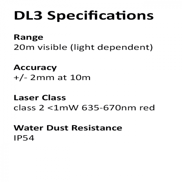 RedBack DL3 Specifications