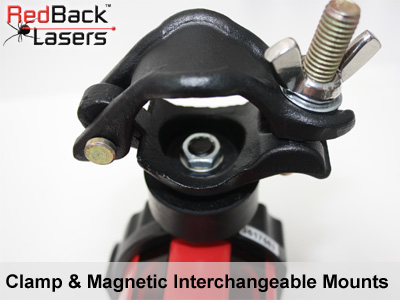 MR825WD magnetic and clamp mounts