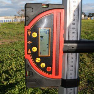 RedBack Lasers LR720 mm millimeter display Receiver for rotating lasers