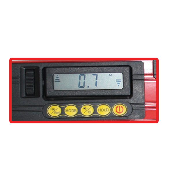 RedBack DL600 DL1200 Digital Level LCD Display