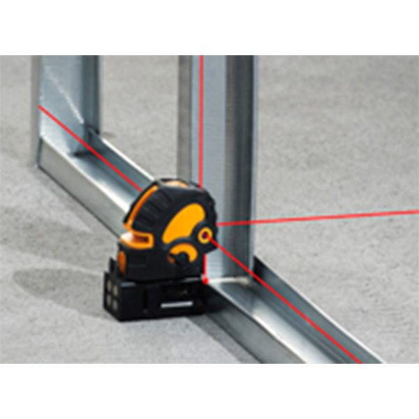 DLD5X 5 Dot 5 point 5 way dot laser plus cross lines indoor fit out installation electricians plasterers kitchens bathrooms interior layout