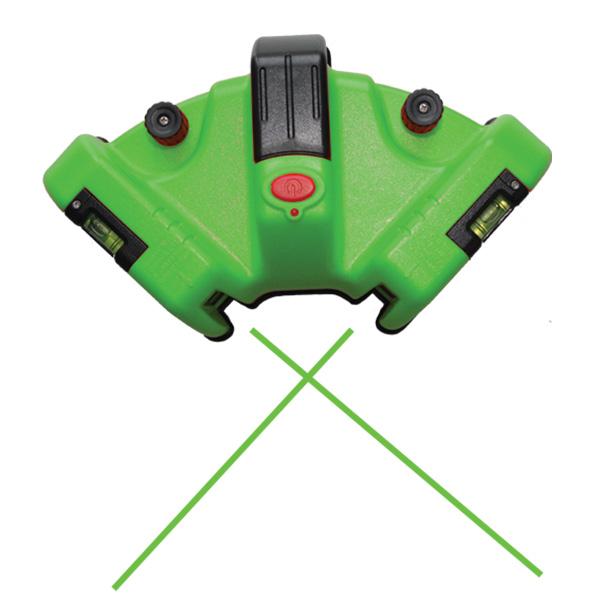 Green Floor Square Laser Ultra Bright Redback Lasers