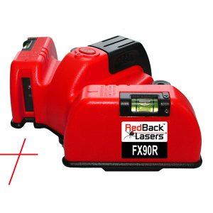 FX90R RedBack Floor Square Cross Line Laser RedBack Lasers Tilers Tiling Laser 90 Degree