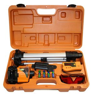 M50322 Kit Level1 Lasers manual rotating laser with tripod and receiver value DIY