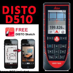 Leica Disto Laser Distance Measure D510