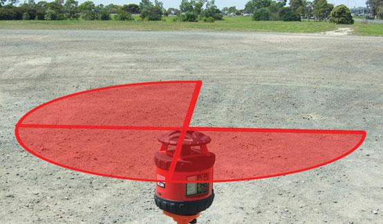 Quadrant Beam Shield RedBack Lasers DGL2510Q