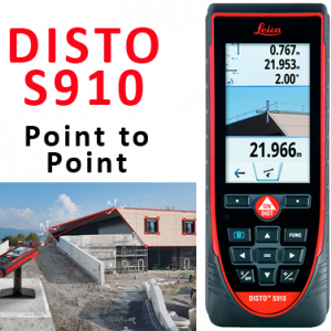 Leica Disto S910 Laser Distance Measure