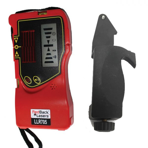 LLR705 Line Receiver RedBack Lasers LCD display