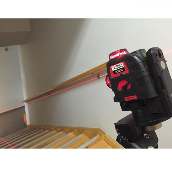 RedBack 3L360R Manual Mode 3D Multi Line 360 laser level