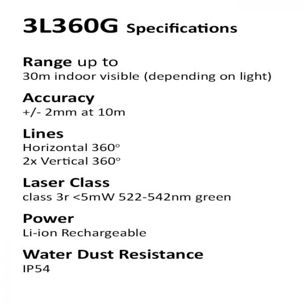 Green Beam multiline laser level