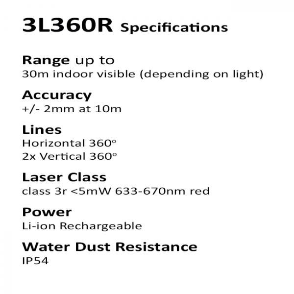 bright multi line laser level