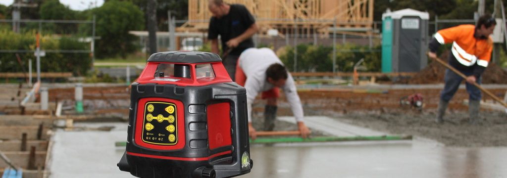 Rotating Laser Level RedBack Lasers Site Levelling