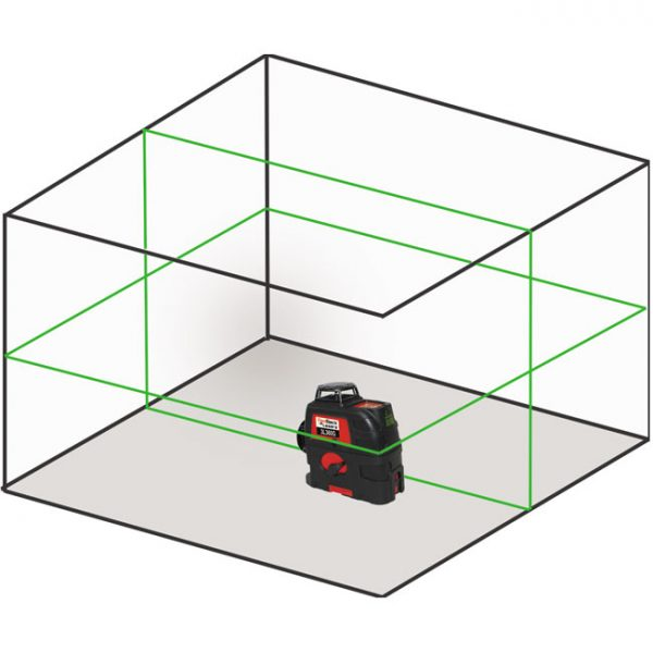 2L360G multi 360 line green laser