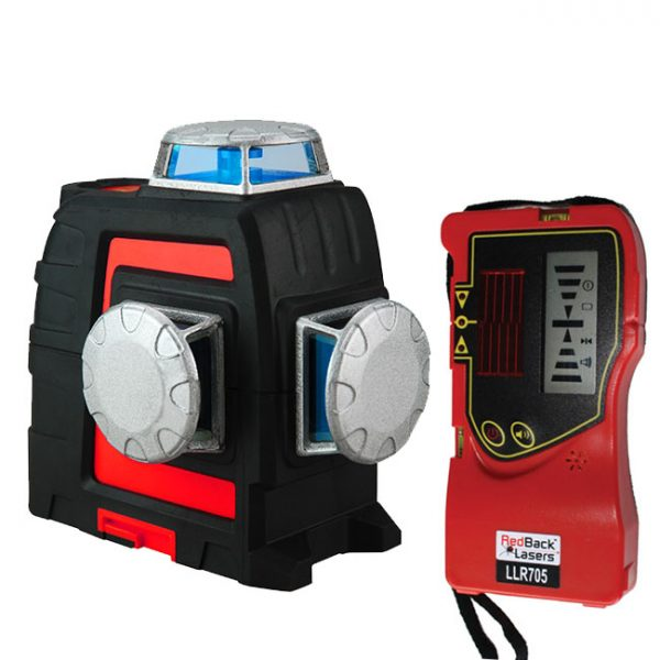 3L360R+ RedBack Laser 3d Multi Cross Line Laser 360 degrees with 300m outline line receiver available in red and green line laser