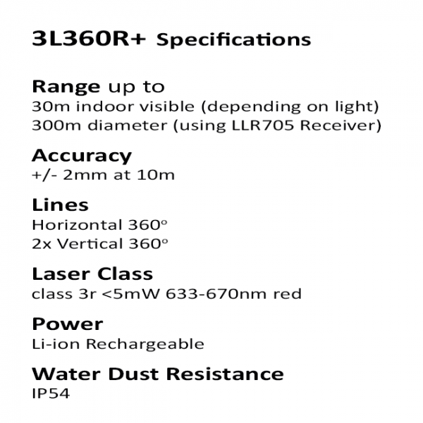 powerful multi line laser level
