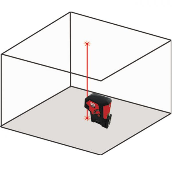 D272 Plumb Laser 2 dot 2 point 2 way laser level