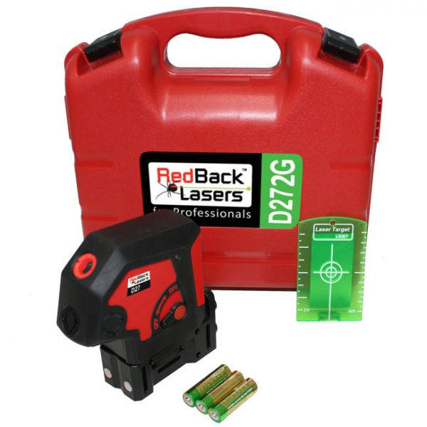 RedBack Lasers D272G green beam dot laser
