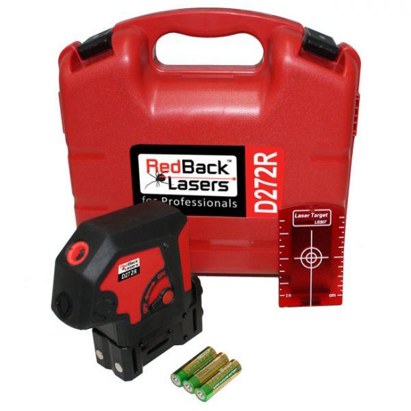 D272R RedBack 2 dot laser level