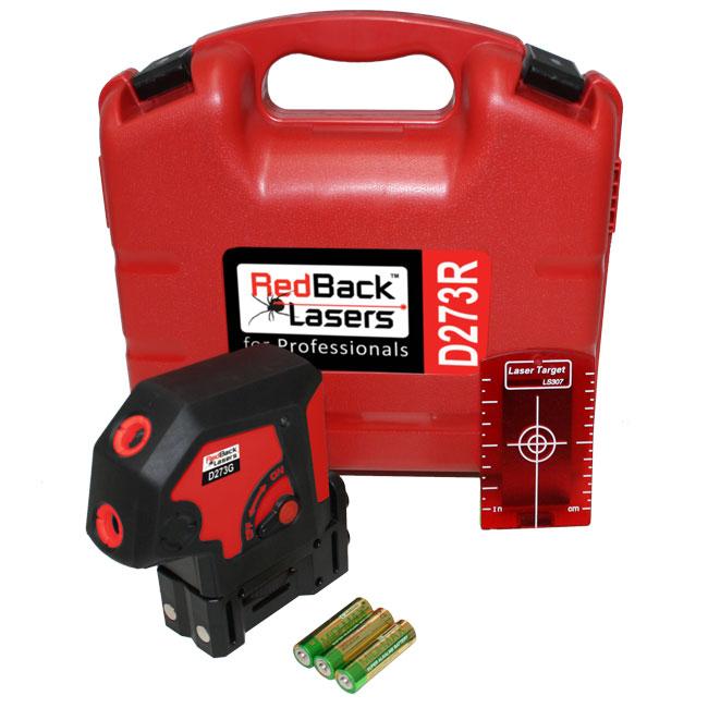 D273r Redback Lasers 3 Dot Laser Level Red Redback Lasers
