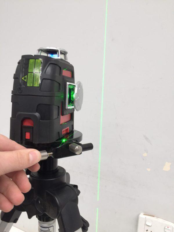 RB360 Rotating Bracket Plate align vertical laser line