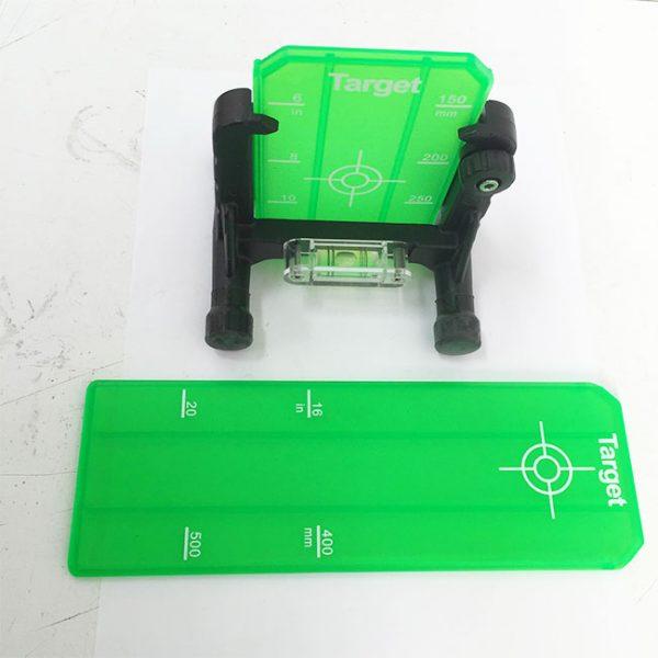 LS650G Green Pipe Laser Target Set