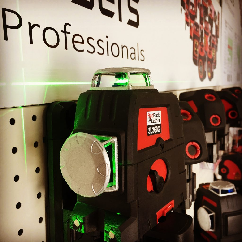 RedBack Lasers Line & Dot Ranges of Laser Level Buy from a Store