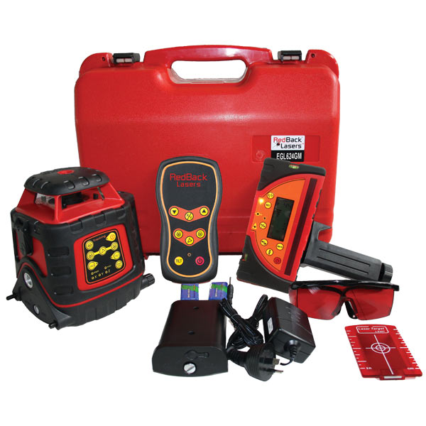 EGL624GM Auto Grade Match Laser Level Kit