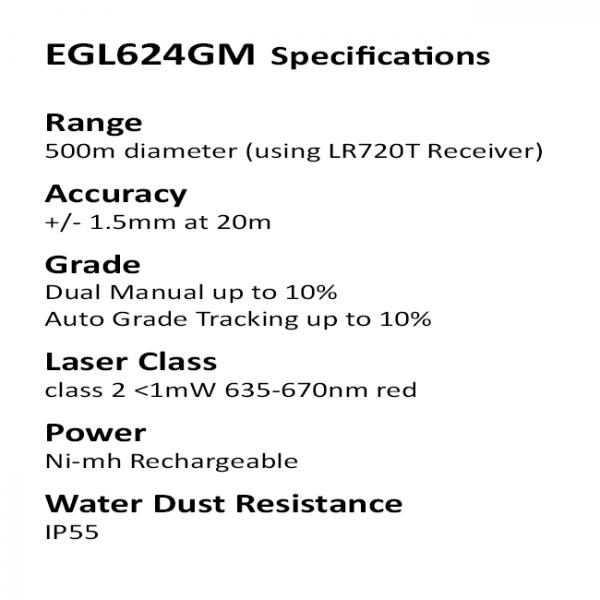 Auto Grade Tracking Laser Level