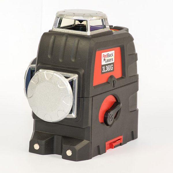 RedBack Lasers 3L360G Green Beam multi 3D 360 multi green cross line laser level
