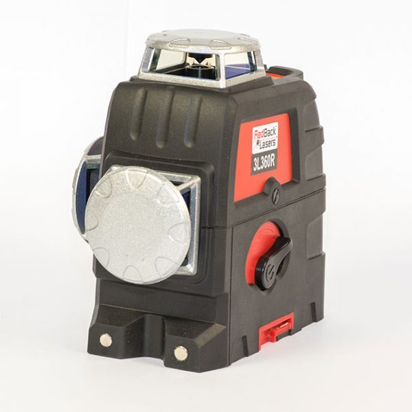 RedBack Lasers 3L360R 360 degree 3D multi line laser with Li-ion batteries