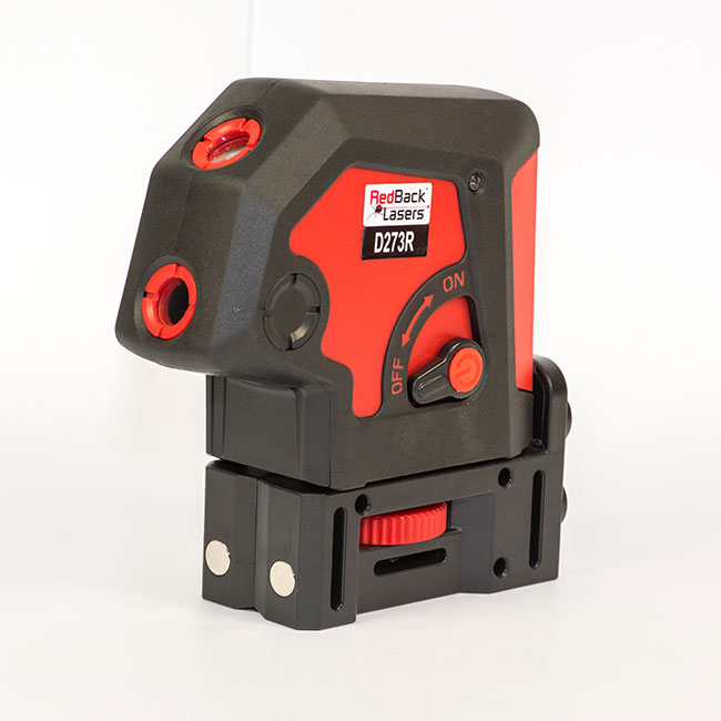 RedBack Lasers D273R auto levelling 3 dot 3 way 3 point plumb laser plumb and level Bosch PLS