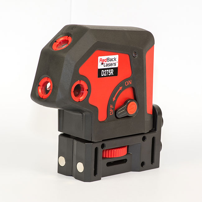 RedBack Lasers D275R 5 dot 5 way 5 point plumb laser level auto levelling Bosch Imex