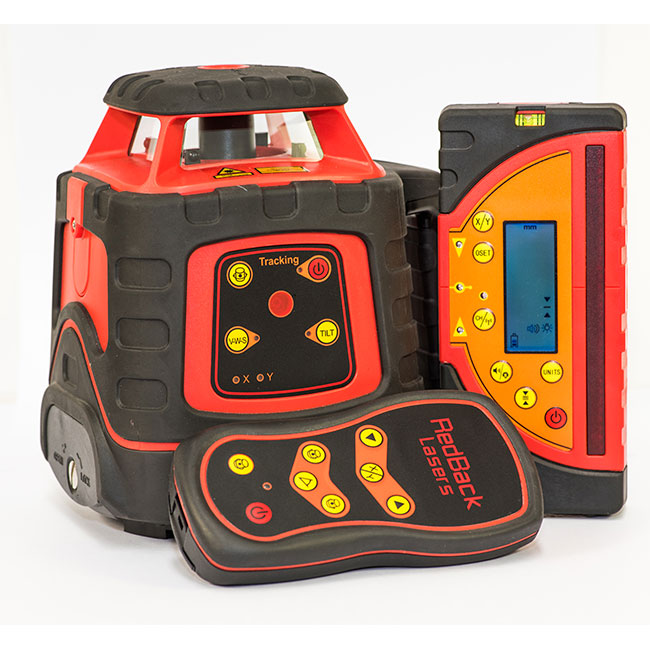 El614GM Auto Grade Match Tracking Rotating rotary Laser level with tracking millimeter receiver
