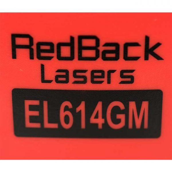 El614GM Auto Grade Match Tracking RedBack Lasers
