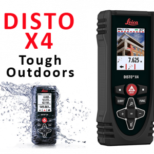 Leica Disto X4 Outdoor Laser Distance Measure