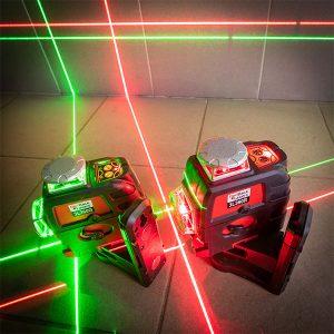 RedBack 3L360R 3L360G red and green range 360 3D Multi Line Laser