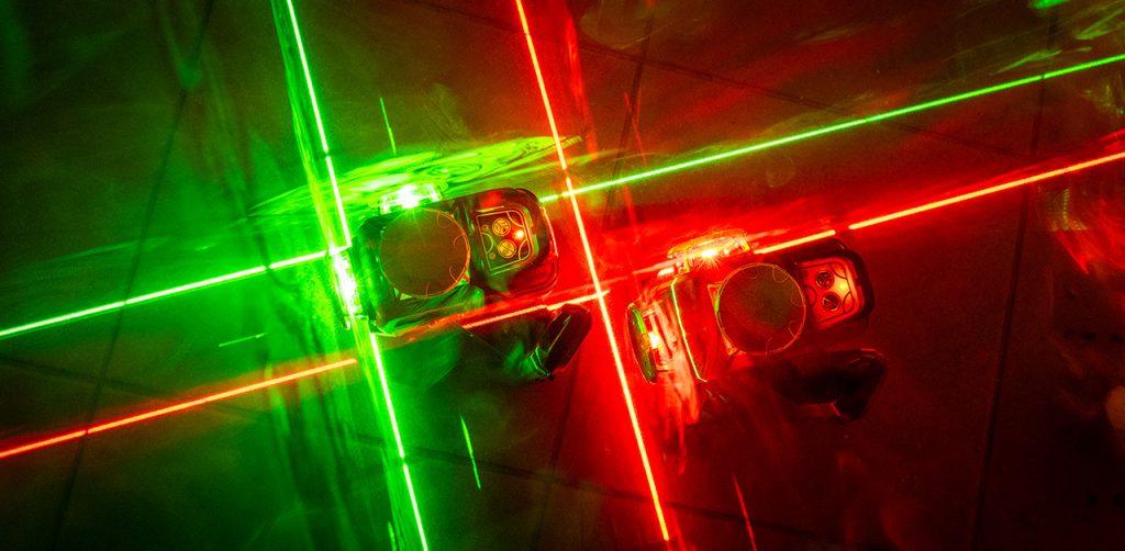 RedBack 3L360R 3L360G Ultra Bright laser levels 360 3D Multi Line Laser