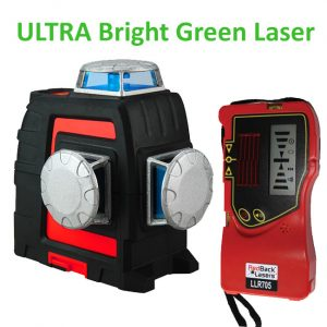 3L360G+ 3D 360 Multi Line Laser with outdoor receiver
