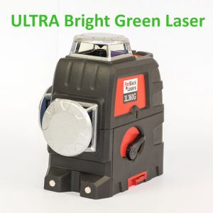 Ultra Bright Green Line Laser 3L360G 3D 360 degree multi line
