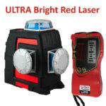 RedBack Lasers 3l360R+ red beam 3D multi line 360 degree laser