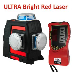 RedBack Lasers 3l360R+ red beam 3D multi line 360 degree laser