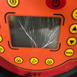 RedBack Lasers Damaged Display Repair and Service