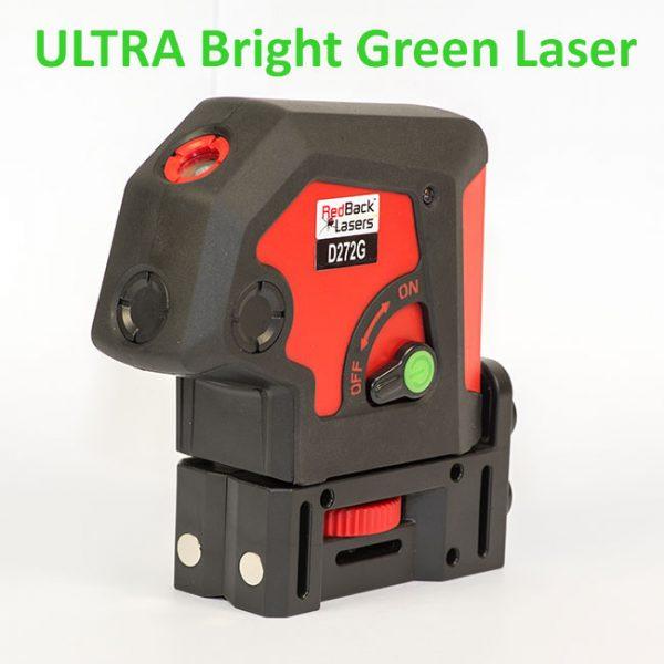 Green Dot Laser 2 way 2 beam 2 dot laser level self levelling Plumb Laser Ultra Bright